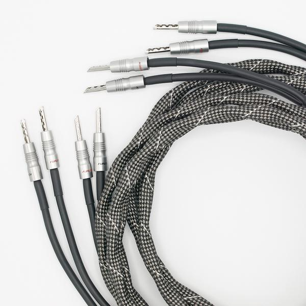 sonorus drive stereo pair 2 x 500cm Banana connectors - Banana connectors