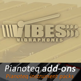 Vibes add-on for Pianoteq