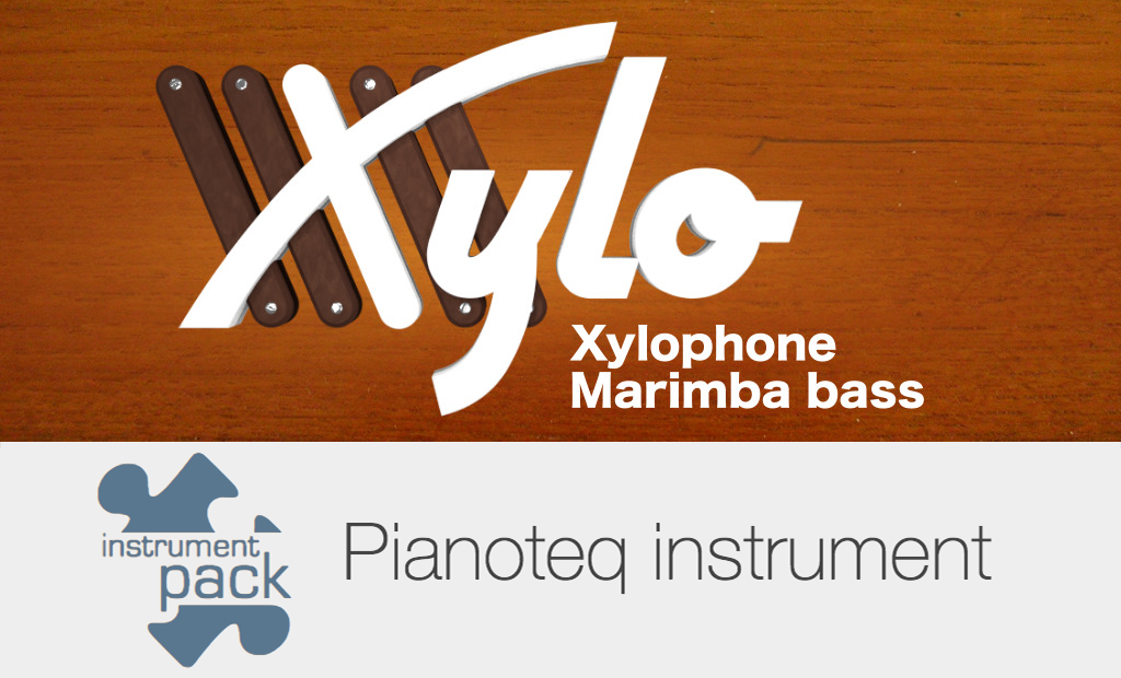 Xylo (Xylophone, Marimba) add-on for Pianoteq