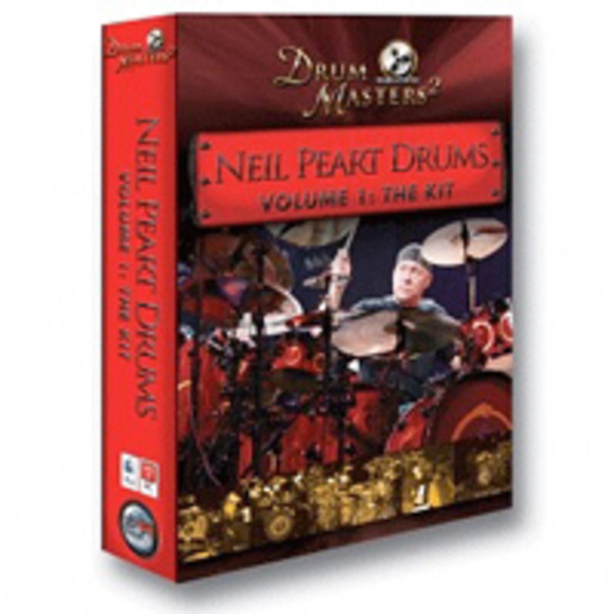 Neil Peart Drums: The Kit for BFD2