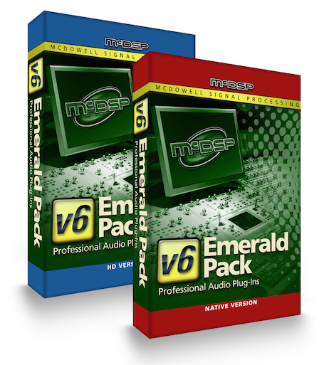 Emerald Pack Native  (12 Plug-in Bundle)