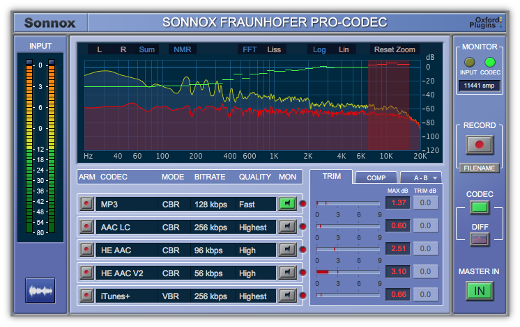 Fraunhofer Pro-Codec (Native)