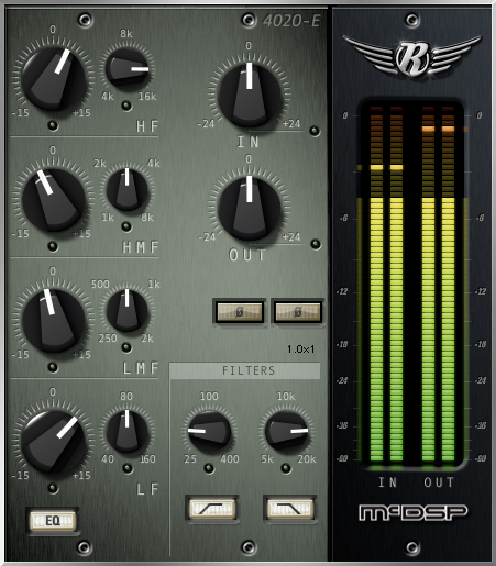 4020 Retro EQ HD