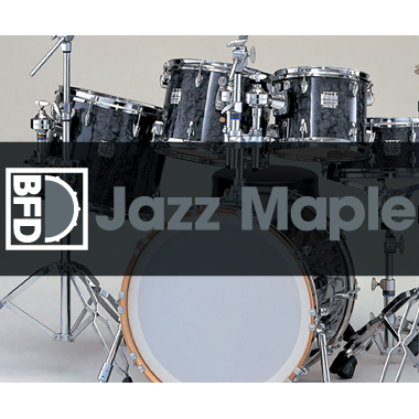 BFD3/2 Expansion Pack: Jazz Maple