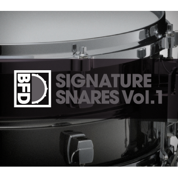 BFD3/2 Expansion Pack: Signature Snares Vol.1