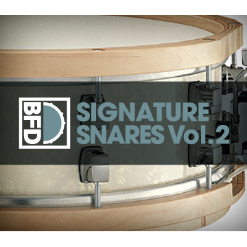 BFD3/2 Expansion Pack: Signature Snares Vol.2