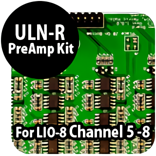ULN-R Preamp ch5-8 for LIO-8 self install
