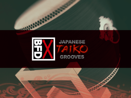 BFD3/2 Groove Pack: Japanese Taiko Grooves (Download)