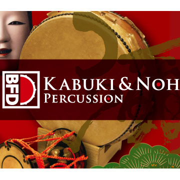 BFD3/2 Expansion Pack: Kabuki & Noh Percussion