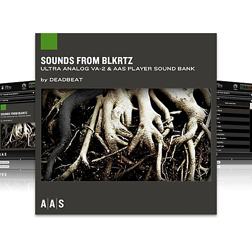 Ultra Analog Sound Banks: Sounds from BLKRTZ