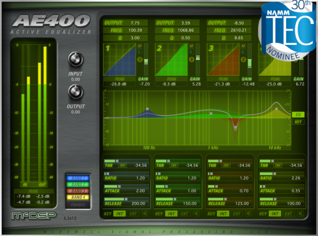 AE400 Active EQ HD