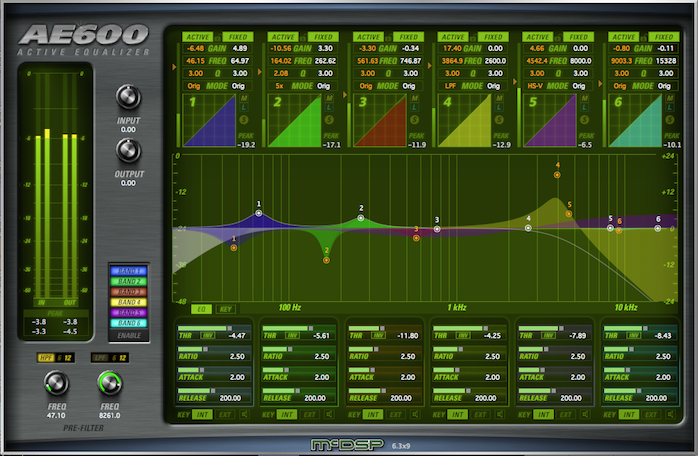 AE400 Active EQ Native