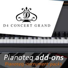 D4 Grand Piano add-on for Pianoteq