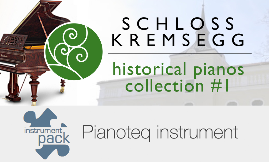 Kremsegg Collection 1 add-on for Pianoteq
