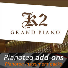 K2 Grand Piano add-on for Pianoteq