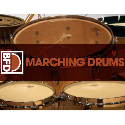 BFD3/2 Expansion Pack: Marching Drums