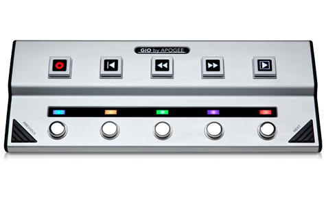 GIO 1 channel Guitar Interface and Controller for Mac