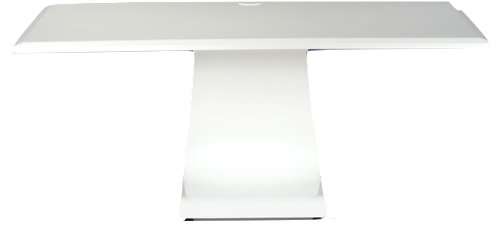 Idesk plain White Gloss