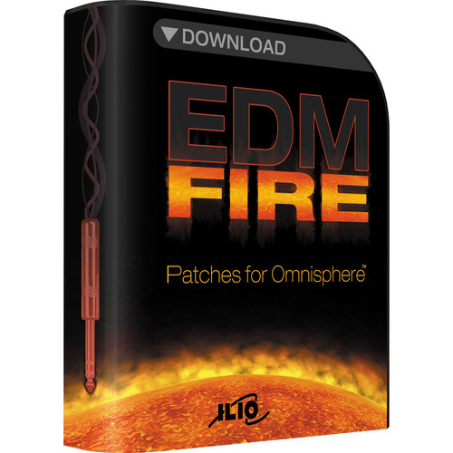 EDM Fire Patches for Omnisphere