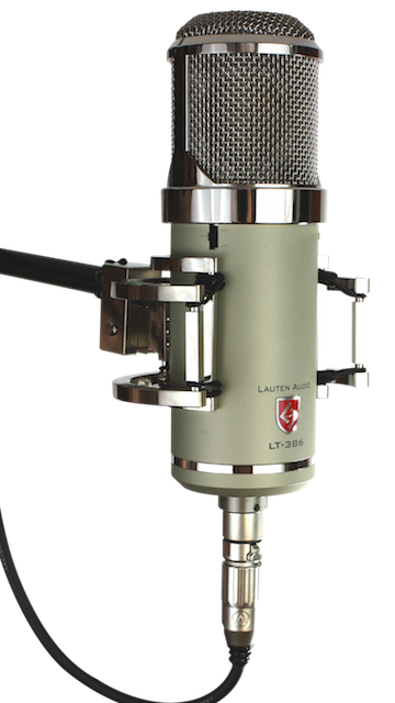 LT-386 - Eden, Multi-voicing?, large diaphragm condenser vacuum tube vocal microphone