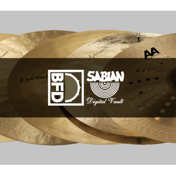 BFD3/2 Expansion Pack: Sabian Digital Vault