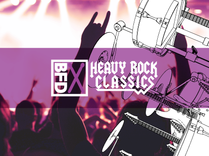 BFD3 Groove Pack: Heavy Rock Classics