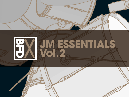 BFD3 Groove Pack: JM Essentials Vol.2
