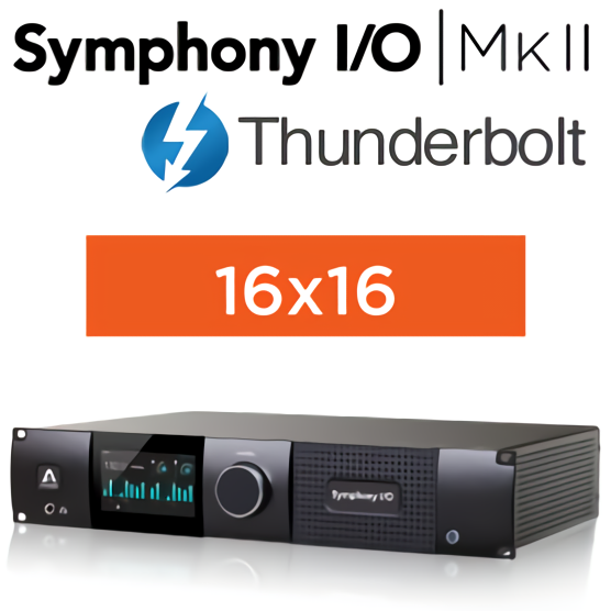 Symphony I/O MKII Thunderbolt Chassis with 16 Analog In + 16 Analog Out 整備済品