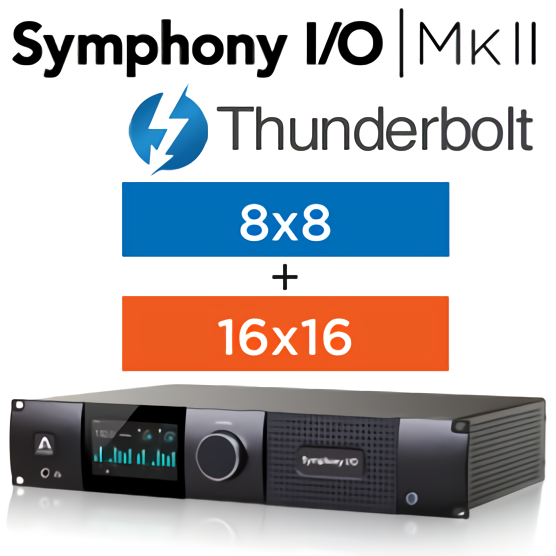 Symphony I/O MKII Thunderbolt Chassis with 16 Analog In + 16 Analog Out+8 Analog In + 8 Analog Out