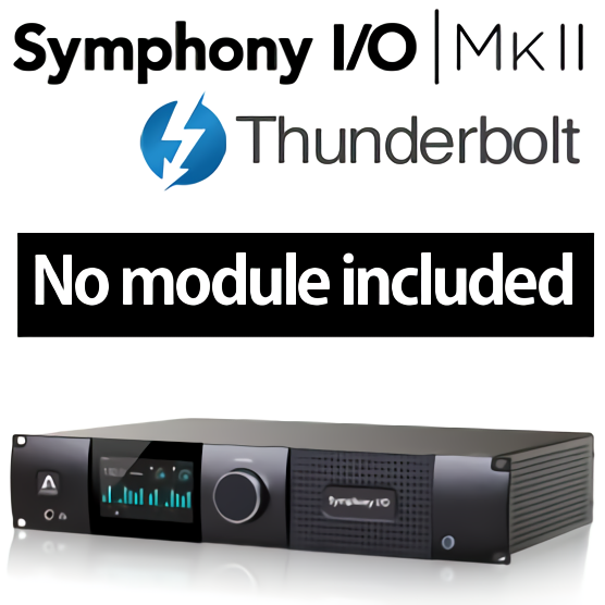 Symphony I/O MKII Thunderbolt Chassis -No module included 整備品キズあり