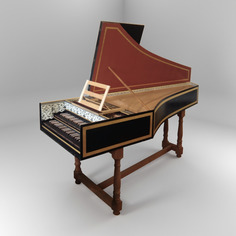 Harpsichords Hans Ruckers II add-on for Pianoteq
