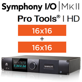 Symphony I/O MKII PTHD Chassis with 16 Analog In + 16 Analog Out +16 Analog In + 16 Analog Out