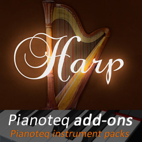 Concert Harp add-on for Pianoteq