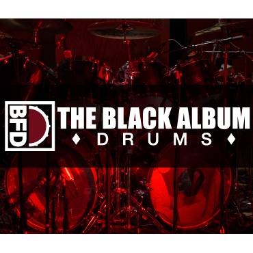 BFD3 Expansion Pack: Black Album Drums