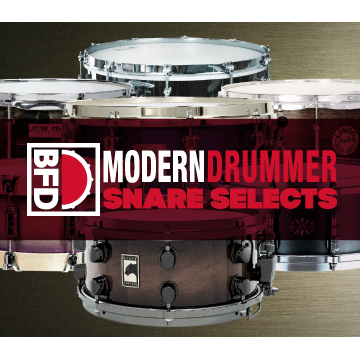 BFD3/2 Expansion Pack: Modern Drummer Snare Selects