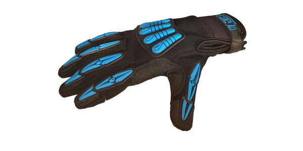 THERMO-GIG GLOVES (Black/Blue) Large