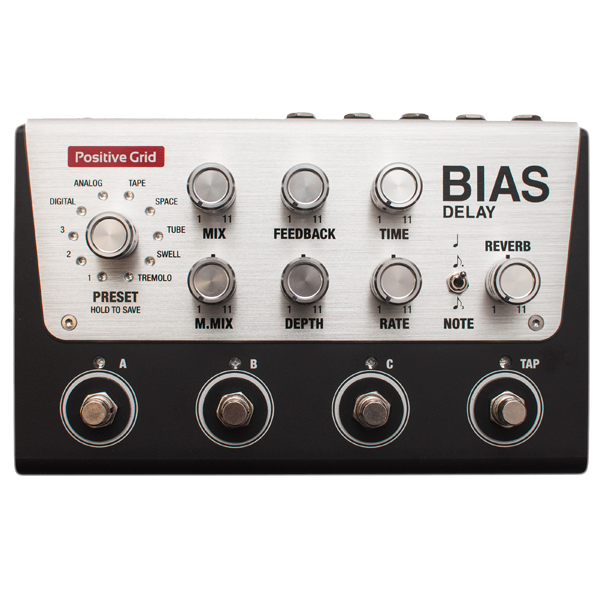 BIAS Delay  Tone Match Delay Pedal (4 Button)