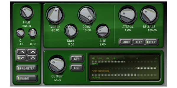 CompressorBank Native v6 (Academic)