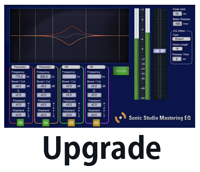Sonic EQ Upgrade to Sonic Studio Mastering EQ