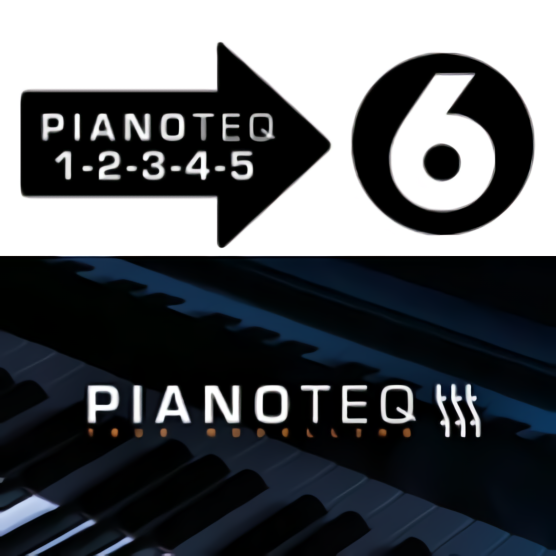 Pianoteq 6 PLAY/Standard/PRO from version x.