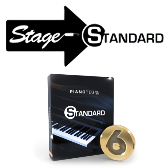 Pianoteq 6 Standard Upgrade from Pianoteq Stage
