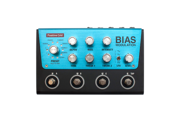 BIAS Modulation  Tone Match Modulation Pedal (4 Button)