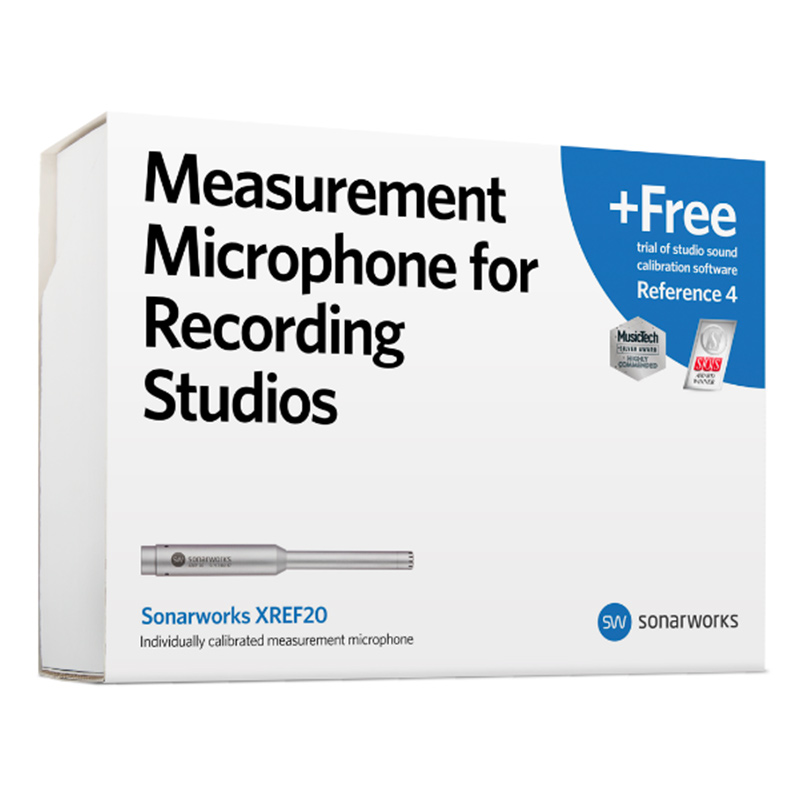 XREF20 Measurement Microphone + Reference 4 Trial