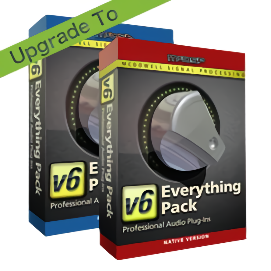 Any 6 McDSP Native plug-in to Everything Pack Native v6.4