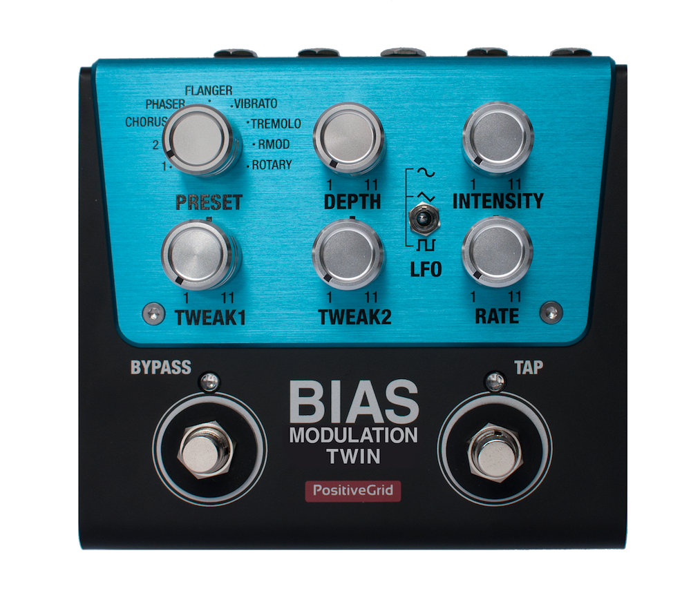 BIAS Modulation Twin Tone Match Modulation Pedal (2 Button)