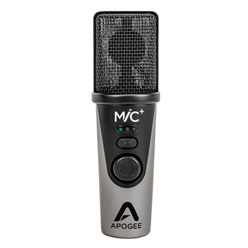 Apogee MiC Plus, digital microphone with headphone output