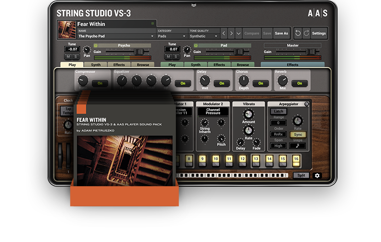 String Studio VS-3 + PACKS