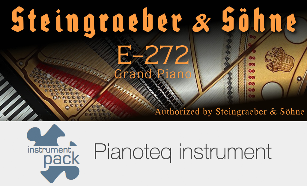 Steingraeber E-272 grand piano add-on for Pianoteq