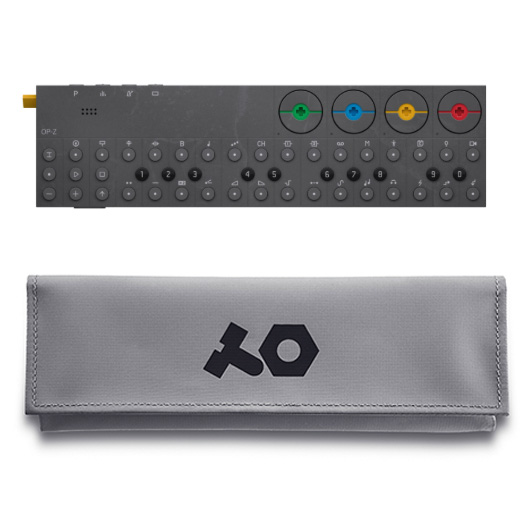 OP-Z with gray case