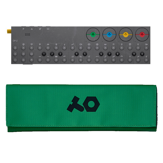 OP-Z with green case
